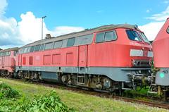 218 393-7 DB Regio Bremen Werk 14.06.14 (Paul David Smith (Widnes Road)) Tags: 218 3937 db regio bremen werk 140614 2183937 br218 baureihe218