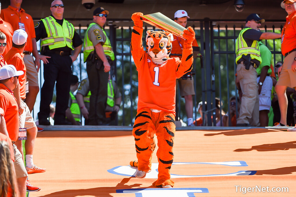 Clemson Photos: The  Tiger, 2017, Football, kentstate