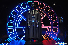 Star Wars Identities Exhibition (It's Nonsinthetik) Tags: starwars starwarsidentities theo2arena thedarkside vader darthvader lordvader