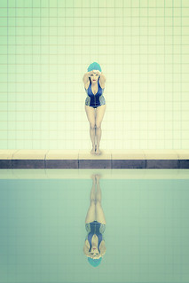Le cours de natation
