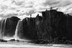 Goðafoss (Role Bigler) Tags: blackwhite blackandwhite canoneos5dsr ef4070200isusml godafoss goðafoss iceland island landschaft langzeitaufnahme longexposure natur nature wasserfall foss landscape manfrotto schwarzweiss water waterfall