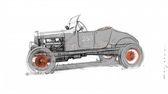 IMG_3535s (Stefan Marjoram) Tags: hotrod sketch drawing art pencil car