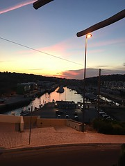(jameslee80) Tags: sky dinner mountains boats night sunset view marina portugal albufeira