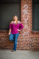 Hannah Senior (huskerman76) Tags: senior girl woman lady teen photography photograph photographer pretty beautiful gorgeous country cowgirl cowboy hat boots downtown oldmarket omaha nebraska canon 70d jeep woods bridge jeans cute smile eyes dress waterfall
