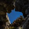 Lluna desde la Ventanona (Stoned Squirrel) Tags: laraya puertubraã±a refugio sanisidro torrecerredo puertubraña mountain nature moon luna ventanona picu torres rocks rock formation