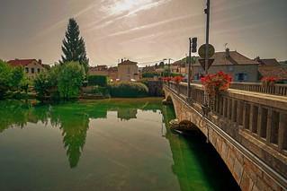 The bridge over the Aube