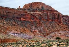 Scenic Drive through Arizona's Navajo Monument Valley Navajo Tribal Park (PhotosToArtByMike) Tags: monumentvalleynavajotribalpark navajonation indiantribe arizona az sandstone redsand desert scenicdrive sandstonebuttes mittensbuttes arizonautahborder filminglocation westernmovies