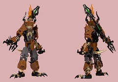 Ignite 1 (Folisk) Tags: lego moc bionicle ccbs technic system ldd digital design pov imp devil fire