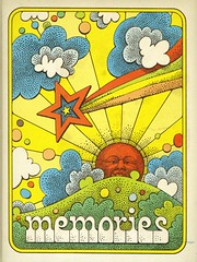Memories (grooveisintheart) Tags: groovy mod psychedelic photoalbum vintage vintagegraphics modgraphics psychedelicgraphics vintageephemera graphicdesign design