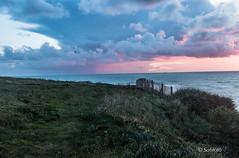 Cap Gris Nez au coucher du soleil