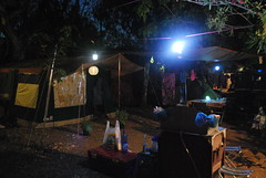 Sami : Camping karavomilos at night (Christophe Rose) Tags: d60 nikon 🌙 night nuit karavomilos sami grèce solena raclet tente tent trailer camping greece christopherose christophe rosé flickr