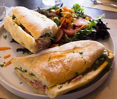 Cubain (Bill in DC) Tags: nm newmexico santafe food bakeeries clafoutis