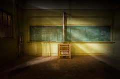 The Old School Project (shutterclick3x) Tags: abandoned abandonedschool lightandshadow frankloose