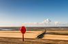 _DSC011277776666-2208 (SteveKenilworth2014) Tags: life saver wavebreak wav pebbels people beach sea seaside seascape landscape clouds sun long exposure 10 stop rhyl denbishire wales dunes stitch panorama wave