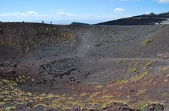Sicily 200917 - DSC_0612 (Leslie Platt) Tags: exposureadjusted straightened lava italy holiday2017 sicily onmtetna volcaniccone