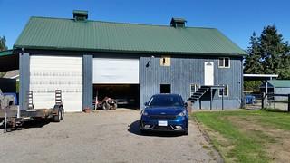 2017 Kia Niro SX Touring down on the farm