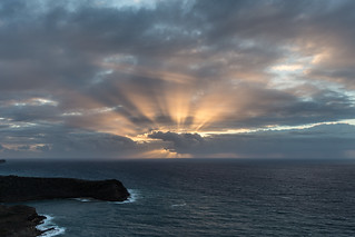 Sunrise at The Blockhouse, Saint Paul, Antigua & Barbuda
