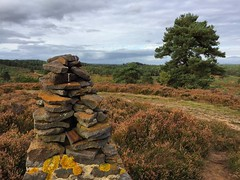The Queen's Bank (Marc Sayce) Tags: queen anne hill bank monument woolmer ranges forest conford longmoor south downs national park hampshire summer autumn september 2017