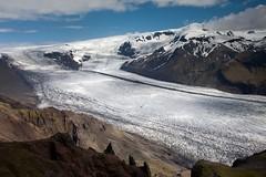 Tongue of Skaftafellsjökull (aivar.mikko) Tags: iceland glacier tongue skaftafellsjökull skaftafell skaftafellsheidi vatnajokull vatnajökull national park ice cap hike hiking nordic island mountains coth5 ngc