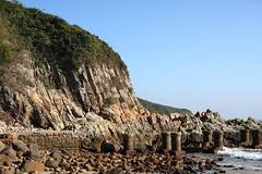 Abandoned Pier (superzookeeper) Tags: 5dmk4 5dmkiv hk hongkong canoneos5dmarkiv manualfocus mf paklap pier abandonedpier zeiss50mmf14zeplanart saikung planart1450 zeiss eos digital favorites landscape