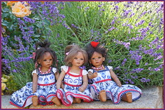 Die Minis ... (Kindergartenkinder) Tags: sommer sanrike blumen personen grugapark essen kindergartenkinder garten blume park annette himstedt dolls leleti reki