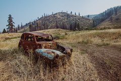 Long Way From Home (Pedalhead'71) Tags: okanogancounty washington abandoned car