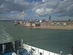 Ensimmäinen etappi Portsmouthista Santanderiin kohdassa 18/24 tuntia. Valaita nähty jo. #portsmouth #brittanyferries #baskimaa2017