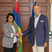 Mauritius President Visits WIPO Director General