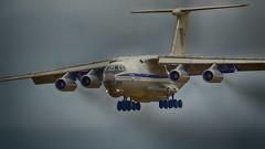 IL-76 (_J @BRX) Tags: riat royalinternationalairtattoo royal international air tattoo airshow show raffairford gloucestershire england uk summer 2017 july av aviation thursday13th arrivals ukrainianairforce ilyushin il76md 78820 ukraine transport