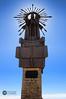 La Estrella eclipsando al Sol (J.Gargallo) Tags: laestrella cruzdemontaña estatua virgendelaestrella virgen mosqueruela teruel aragón españa eos eos450d 450d canon canonefs18200 canon450d