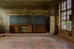 blackboard (Captured Entropy) Tags: lostplace urbex decay abandoned derelict blackboard school