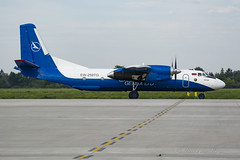 GNX_AN26_EW259TG_WAW_AUG17 (Yannick VP) Tags: civil commercial cargo transport plane aircraft freight prop propliner turboprop genex belarus antonov an26 curl ew259tg warsaw chopin okecie airport waw epwa poland europe august 2017