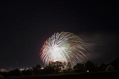 The Sky Fountain (alexwinger) Tags: night fireworks nikon sky black balcon stars colour d5200