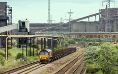 Lackenby to Scunthorpe (Kingmoor Klickr) Tags: lackenby southbank 66174 dbcargo railfreight