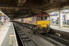 DBS 66116 Paddington (daveymills31294) Tags: dbs 66116 paddington class 66 660 ukr uk railtours valley legend