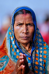 Portraits from Gangasagar (pallab seth) Tags: portrait gangasagarmela 2017 pilgrimage bengal india mela pilgrim religion festival ritual priest religious culture hindu hinduism tradition custom gangasagar anindianportrait people peopleoftheworld indian asian asia face outdoor samsungnx1 samsungnx85mmf14edssalens