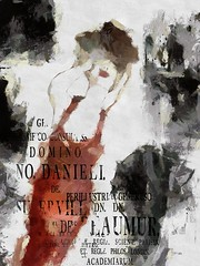UrbanGirl2 (jimlaskowicz) Tags: city grunge modern text red impressionistic urban black ink painterly watercolor artistic art jimlaskowicz surreal
