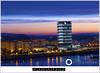 BADAJOZ. EDIFICIO SIGLO XXI Y BARRIADA DE LA PAZ Y LOS ORDENANDOS. (Fotografías Pedro Castellanos) Tags: badajoz night hora azul caja de anochecer sunset