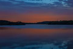 Fairburn Ings Sunset (Richard Croft136) Tags: sun set twilight blue orange trees leaves fair burn ings clouds reflections reflection light evening summer silhouette silouhette lake water sky landscape sunset dusk river
