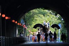 Narita Gion Festival (seiji2012) Tags: 成田祇園祭 成田 祭 トンネル 山車 パレード narita festival tunnel floral
