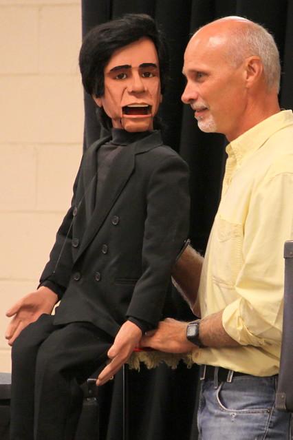 2017 TN State Fair: Ventriloquist David Turner and Johnny Cash