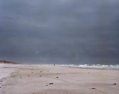 Sandstorm (Rosenthal Photography) Tags: 6x7 ff120 asa100 color brandung mittelformat urlaub stand c41 kodakektar100 nordsee 20170708 analog mamiya7 dänemark denmark danmark beach sea northernsea mediumformat sun summer clouds sand landscape seascape mamiya kodak ektar epson v800