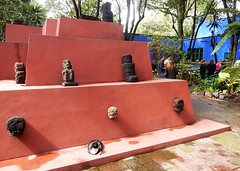courtyard-temple (quirkytravelguy) Tags: frida kahlo museum mexico city coyoacan