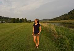 Self Portrait, 41 (Sarah Hina) Tags: sarahhina selfportrait hockingriver athensohio