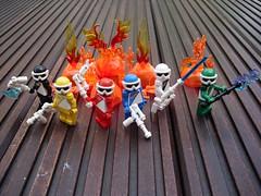 Combat Squad LechRanger (V2) (Śląski Hutas) Tags: lego moc bricks minifigures poland polska hungary magyar sentai toku rangers toy