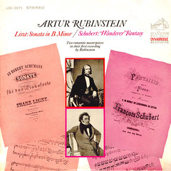 Liszt Sonata in b - Schubert Wanderer Fantasy - Rubinstein RCA 1 (sacqueboutier) Tags: vintage vinyl vinylcollection vinyllover vinylnation vinylcollector lp lplover lps lpcollection lpcover lpcollector lpcoverart records record classical classicalmusic music dance dances