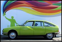 Au nuancier nous avons... (andre2cv87) Tags: citroen gs gspecial vert reinette ac 537 1979 seventies nuancier coloris teintes