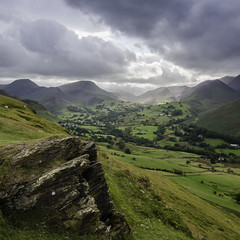 From Catbells looking South-West (pedalpusher139) Tags: catbells lakedistrict mountains outdoors rocks valley
