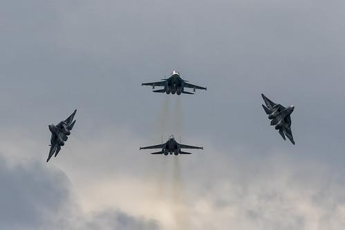 Sukhoi Flypast - 5