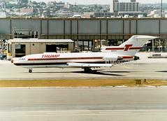 Trump                                           Boeing 727                                     N903TS (Flame1958) Tags: trump trumpshuttle trumpb727 trumpshuttleb727 boeing727 boeing b727 727 n903ts bostonloganairport loganairport bostonairport massachusetts unitedstates usa print scan 1989 1990
